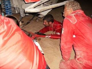 Burns racing Baja 1000 to Cabo San Lucas 2007