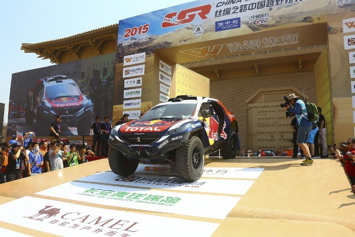 Stéphane Peterhansel and Cyril Despres are both driving the latest-specification Peugeot 2008 DKR which has been dubbed the Peugeot 2008 DKR 15+