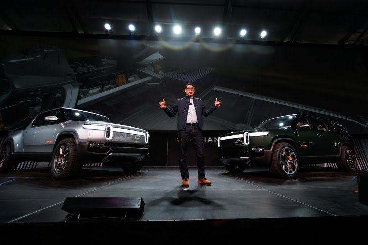 Rivian's R1S S.U.V. and R1T pickup